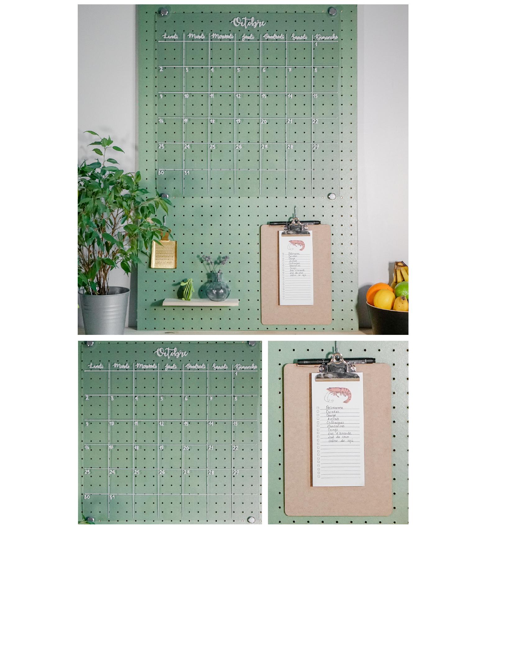 diy organisation l 39 organisateur mural les petites p pites. Black Bedroom Furniture Sets. Home Design Ideas