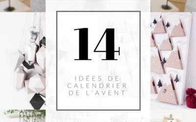 INSPIRATIONS CALENDRIER DE L'AVENT
